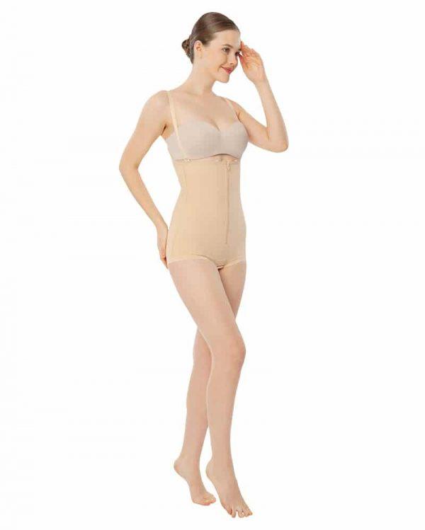 Girdle_With_High_Waist_Zippered_Closures_Bikini_Length_Style_No_G142